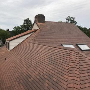 Mariakerke hellend dak