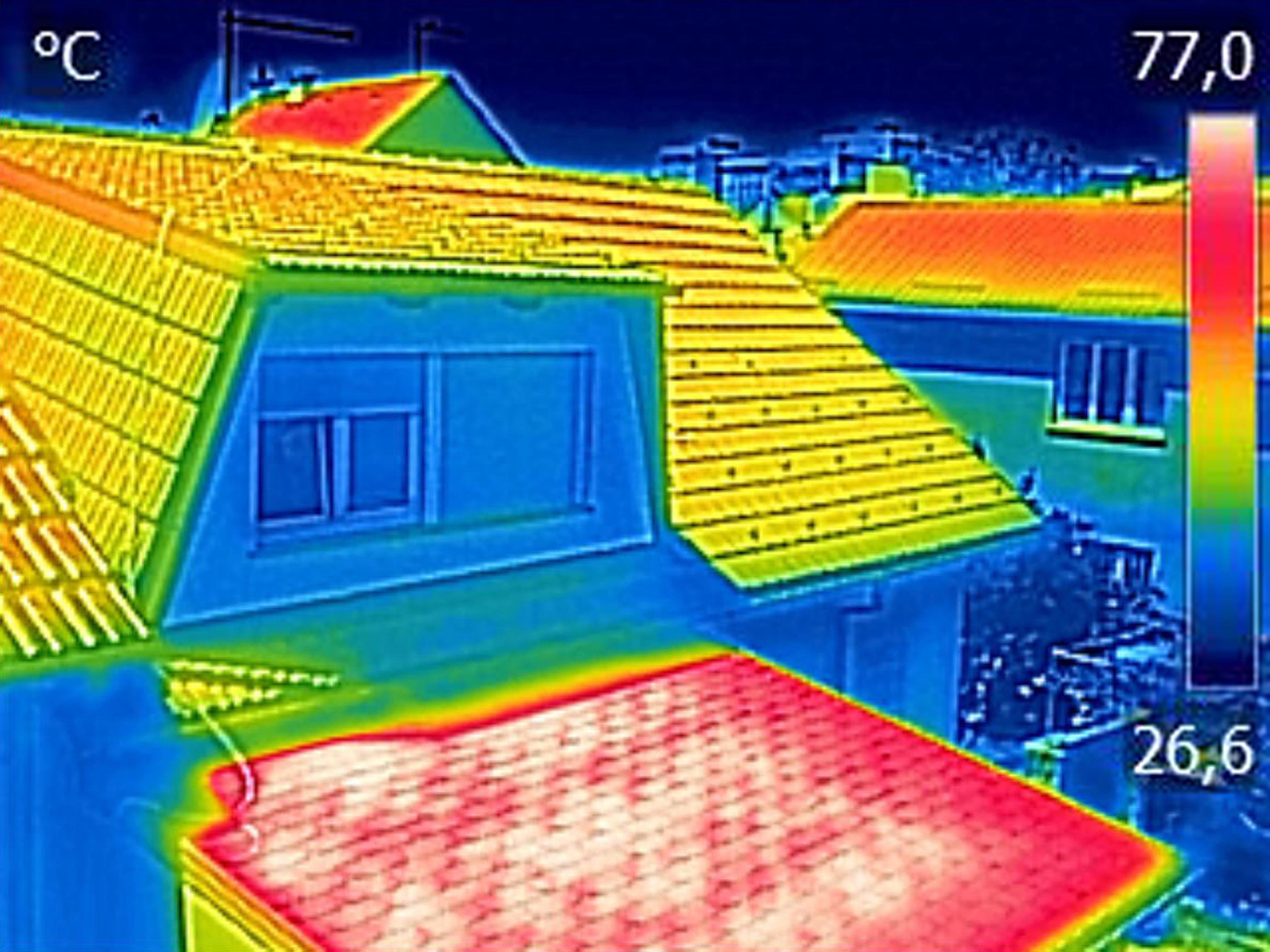 We gebruiken een warmtebeeldcamera om dak en gevel te analyseren | Durieux dak- en gevelwerken